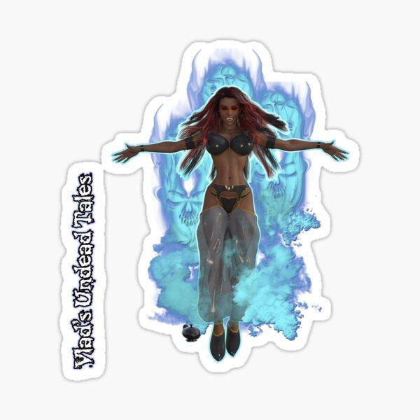 Undead Tales: Vampire Genie In The Lamp Sticker