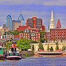 Philadelphia Skyline by Morris Klein