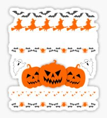 Cool Manufacturer Ugly Halloween Sweatshirt  Sticker