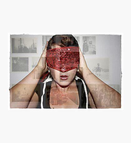 Blindsided... Photographic Print