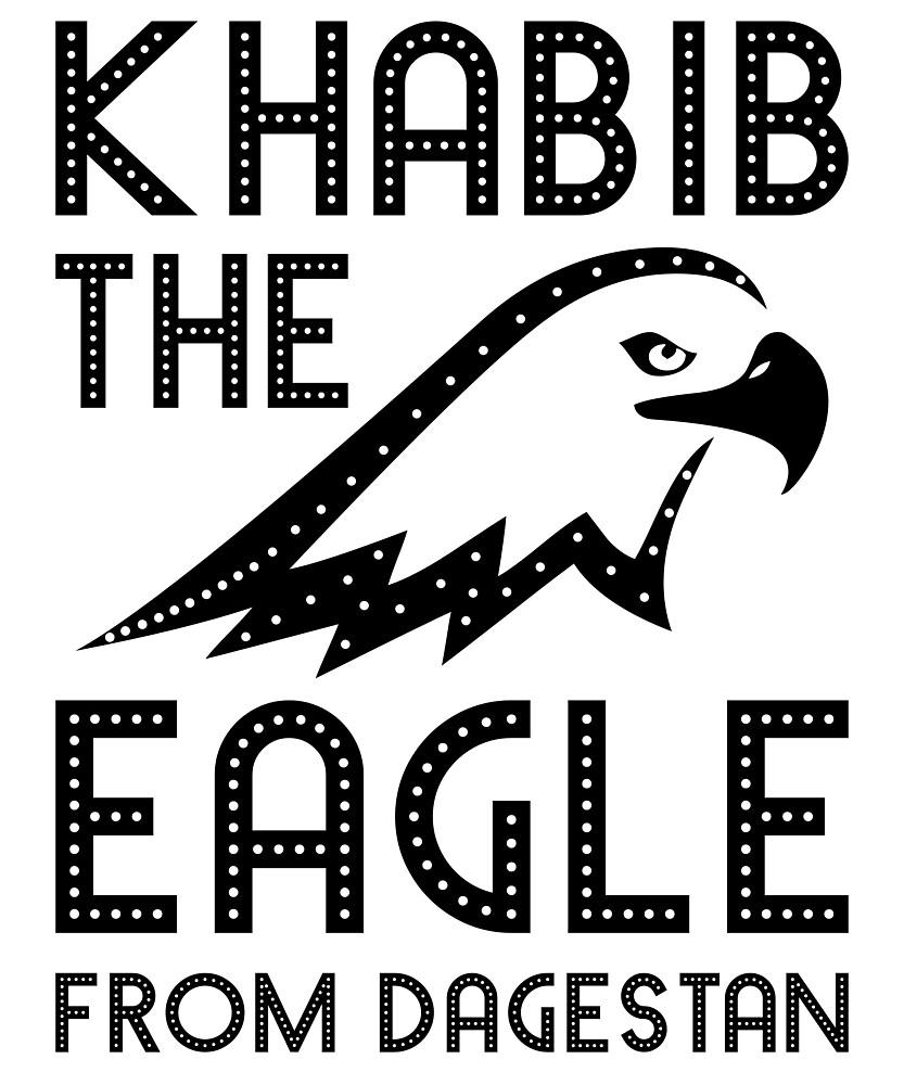 Khabib The Eagle From Dagestan - Khabib Time T Shirt by vicekingwear