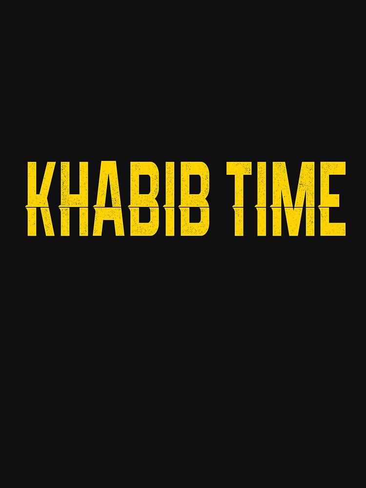 Khabib Time T-shirt - Khabib Shirt by vicekingwear