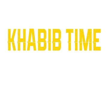 Khabib Time T-shirt - Khabib Shirt by vicekingwear