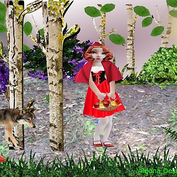 Red Riding Hood /Flower  (959 views) by aldona