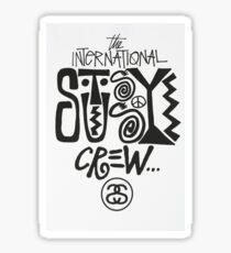 Stussy Crew Sticker