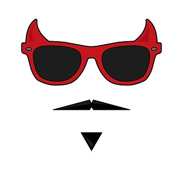 Devil Sunglasses by EthanDecker