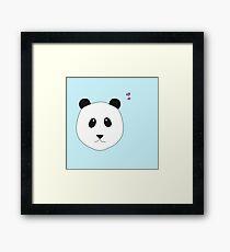 Pandalove - der Panda zum Verlieben Gerahmtes Wandbild