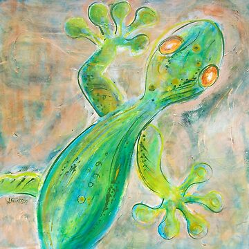 Green Gecko by williwilli70