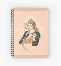 [FFXV] Electric House Purrs Notebook Spiral Notebook
