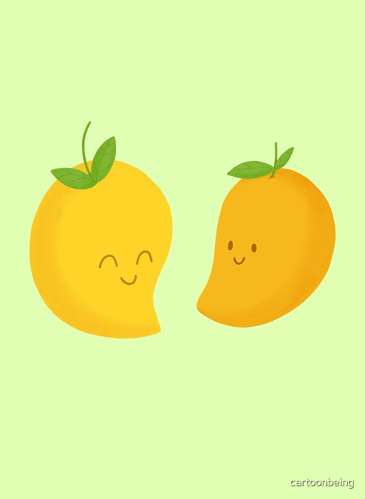 Happy Mangoes by cartoonbeing