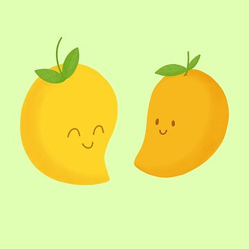 Mangos felices de cartoonbeing