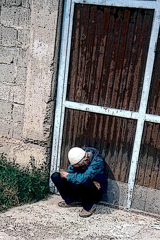 Bosnian Elder by Benjamin Sloma