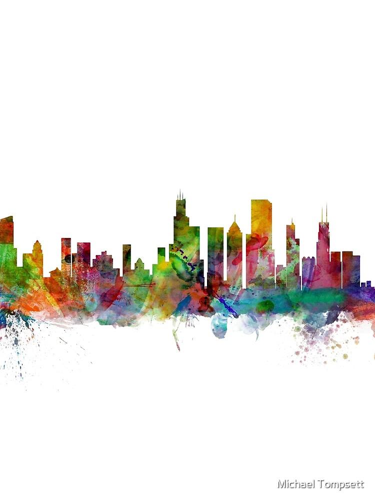 Chicago Illinois Skyline von ArtPrints