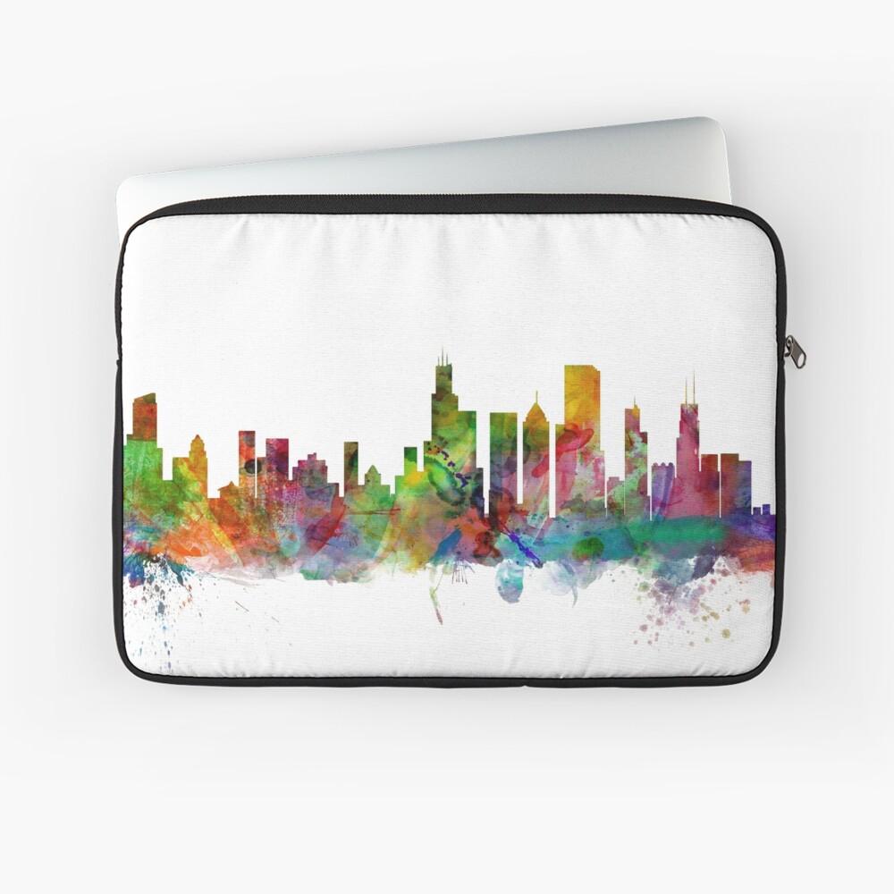 Chicago Illinois Skyline Laptoptasche
