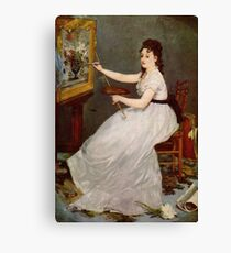 Edouard Manet, France Great Artist Impressionism Canvas Print
