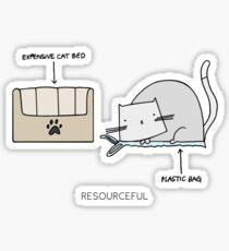 RESOURCEFUL Sticker
