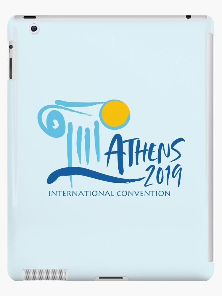 'Athens, Greece - 2019 International Convention' iPad Case/Skin by JW Stuff