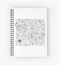 an Ultimate vine compilation but instead of a video its just terribly drawn  Spiral Notebook