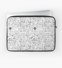 an Ultimate vine compilation but instead of a video its just terribly drawn  Laptop Sleeve