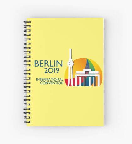 Berlin, Germany - 2019 International Convention Spiral Notebook
