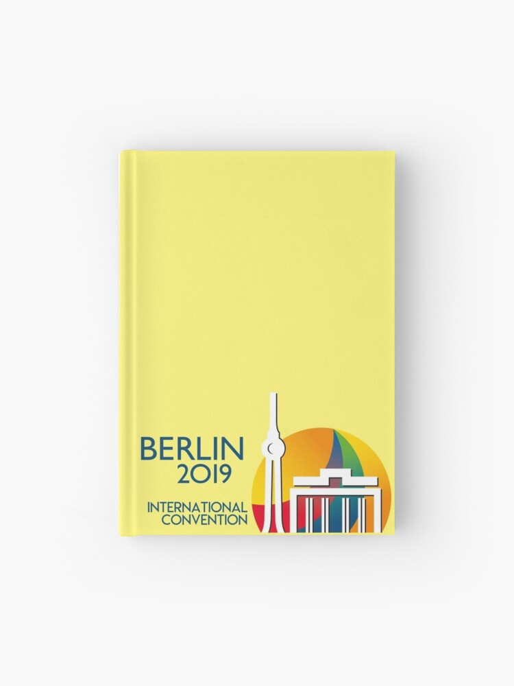 Berlin, Germany - 2019 International Convention | Hardcover Journal