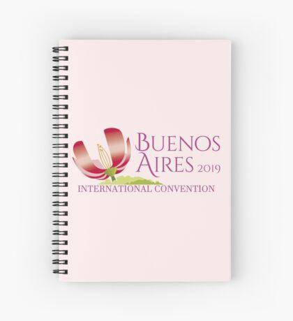 Buenos Aires, Argentina - 2019 International Convention Spiral Notebook