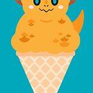Ice Cream Dragon Yellow by Big-Pasach