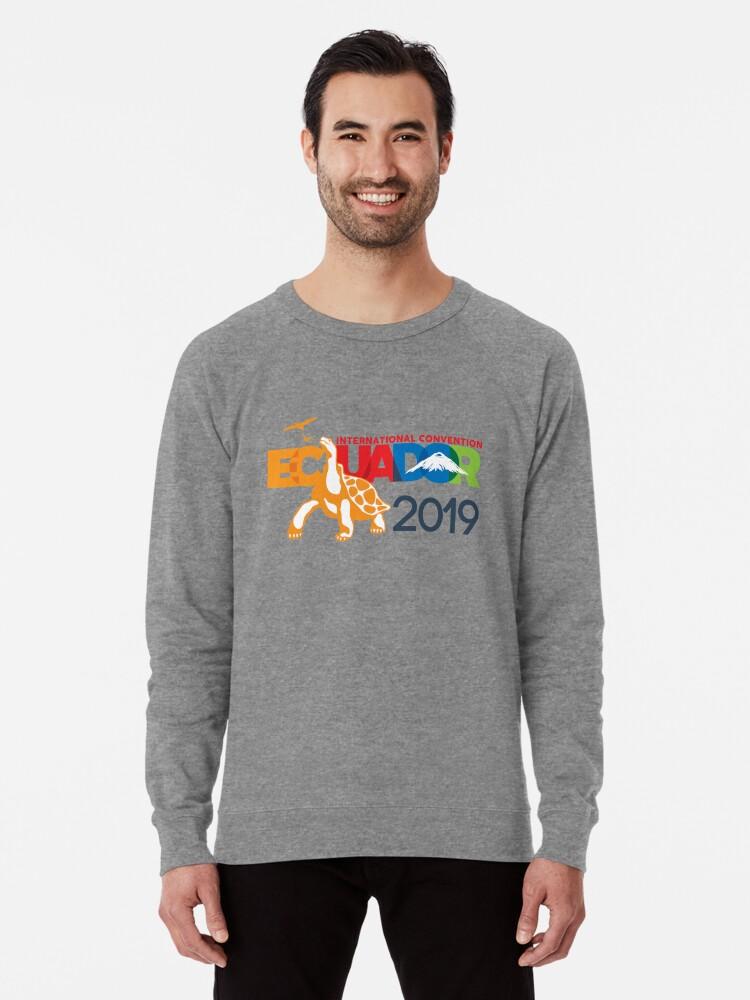 'Guayaquil, Ecuador - 2019 International Convention' Lightweight Sweatshirt  by JW Stuff