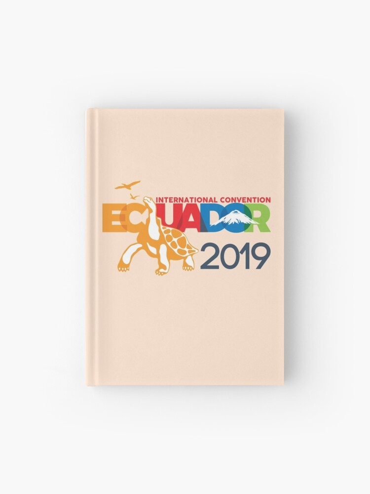 Guayaquil, Ecuador - 2019 International Convention | Hardcover Journal