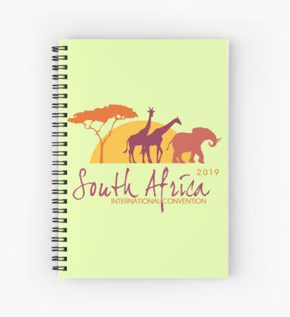 Johannesburg, South Africa - 2019 International Convention Spiral Notebook