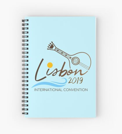 Lisbon, Portugal - 2019 International Convention Spiral Notebook