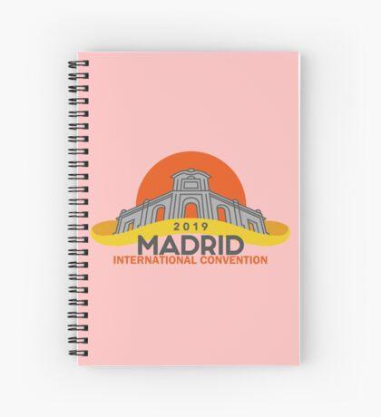 Madrid, Spain - 2019 International Convention Spiral Notebook
