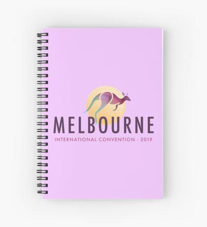 Melbourne, Australia - 2019 International Convention Spiral Notebook