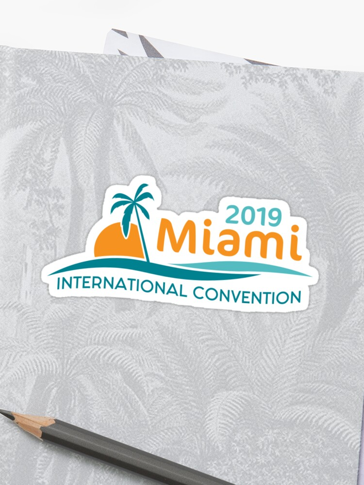 Miami, Florida - 2019 International Convention | Sticker