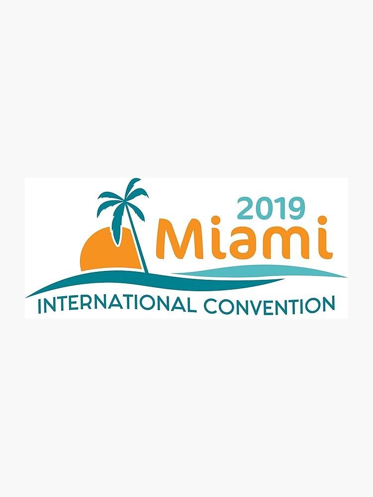 Miami, Florida - 2019 International Convention | Photographic Print
