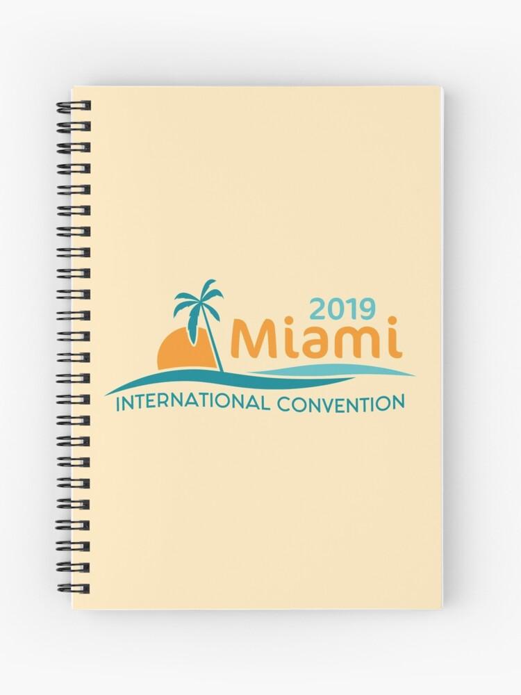 Miami, Florida - 2019 International Convention | Spiral Notebook