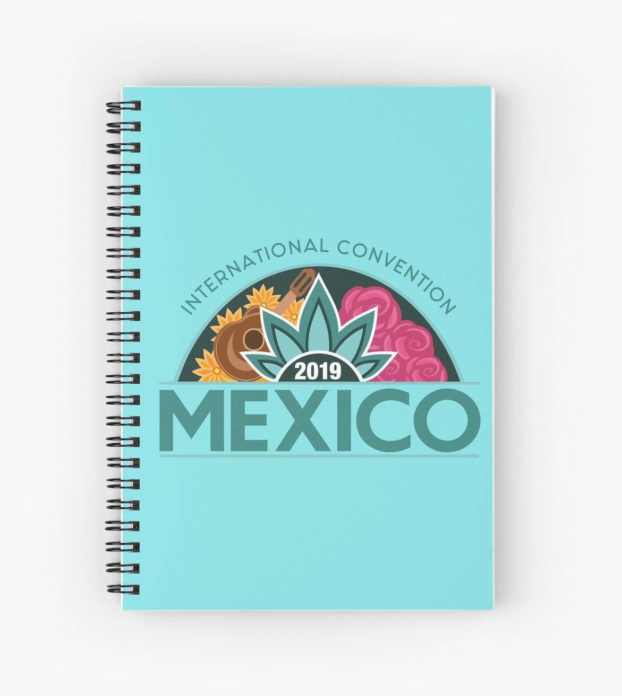 'Monterrey, Mexico - 2019 International Convention' Spiral Notebook by JW  Stuff