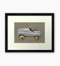 Antique Pedal Car Framed Print