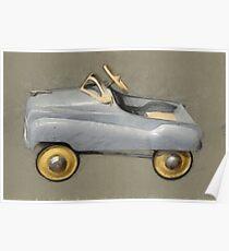 Antique Pedal Car Poster