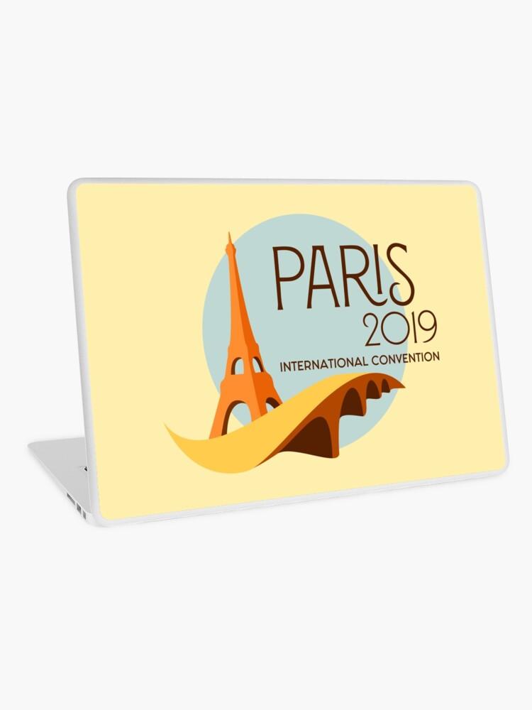 Paris, France - 2019 International Convention | Laptop Skin