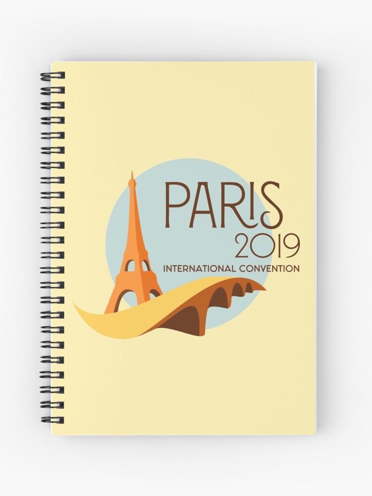 Paris, France - 2019 International Convention | Spiral Notebook