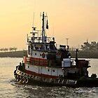 Tug Boat Virginia by pmarella