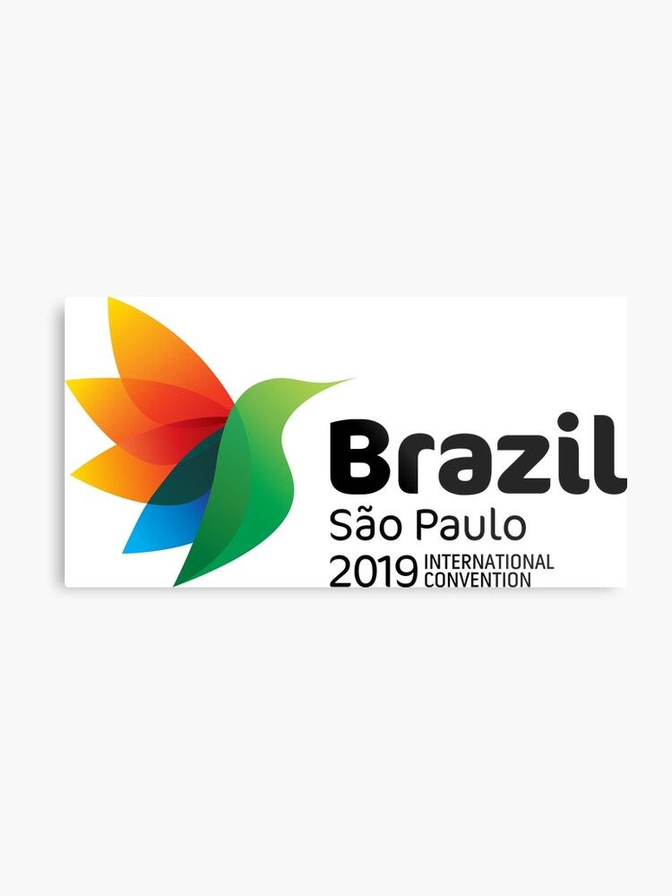 São Paulo, Brazil - 2019 International Convention   Metal Print