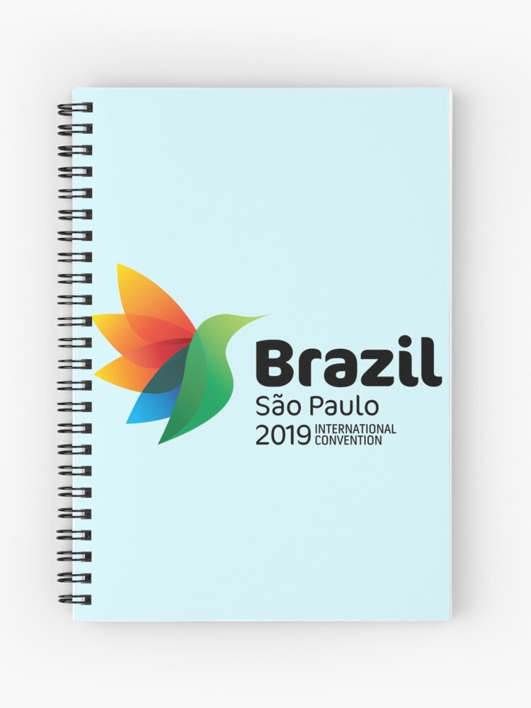São Paulo, Brazil - 2019 International Convention | Spiral Notebook