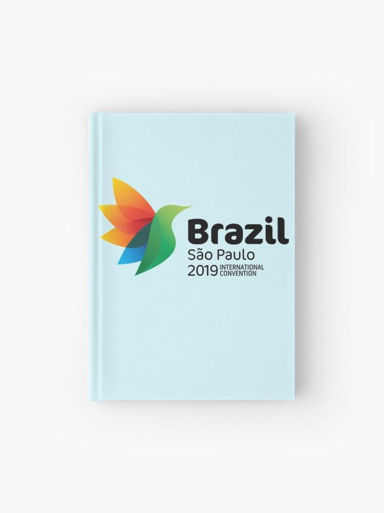 São Paulo, Brazil - 2019 International Convention | Hardcover Journal