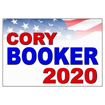 Cory Booker for President in 2020 by Chunga