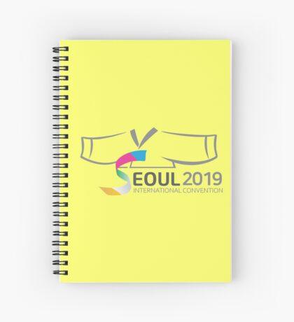 Seoul, Korea - 2019 International Convention Spiral Notebook