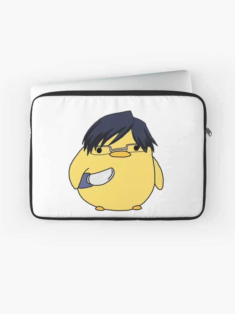 Iida Tenya Knife Chick Meme Laptop Sleeve
