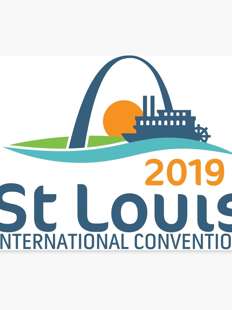 St  Louis, Missouri - 2019 International Convention | Canvas Print