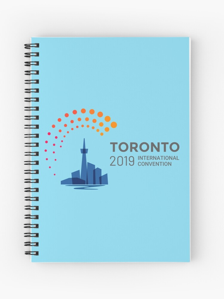 Toronto, Canada - 2019 International Convention | Spiral Notebook